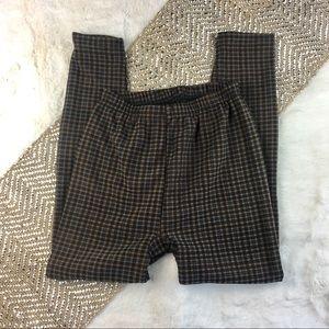 Pants - Warm for fur lined stretch pants elastic waist S